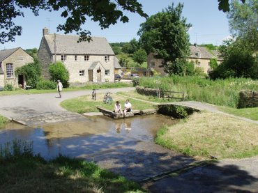The ford at Upper Slaughter